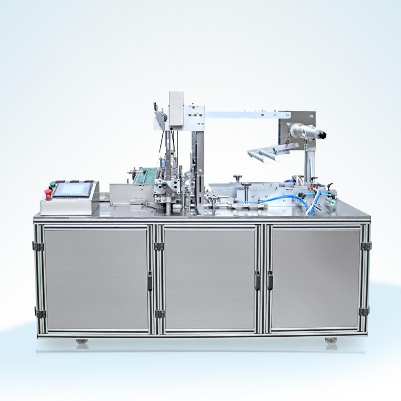 全自动透明膜三维烟包机(烟包膜机)